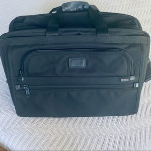 Tumi Alpha expandable organizer and weekender